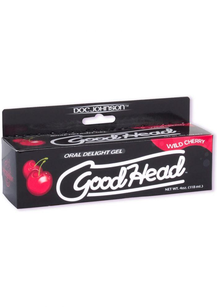 Goodhead Oral Delight Gel Wild Cherry 4 Ounce