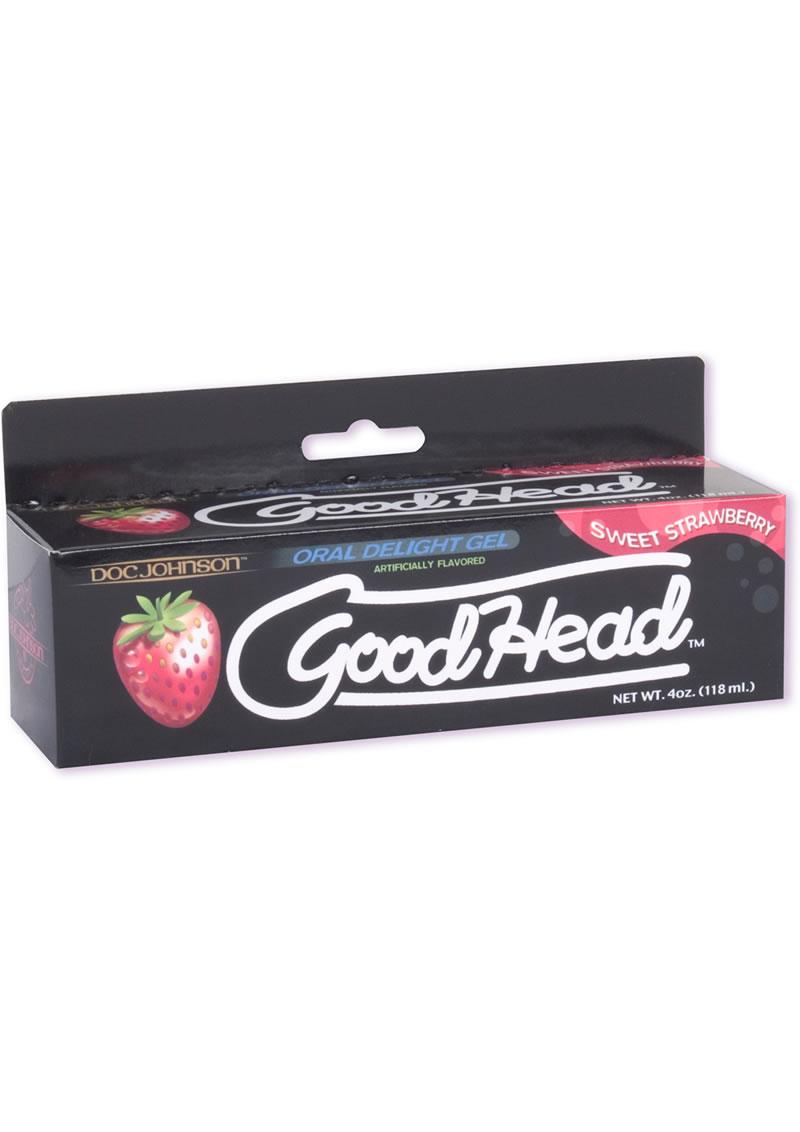 Goodhead Oral Delight Gel Sweet Strawberry 4 Ounce