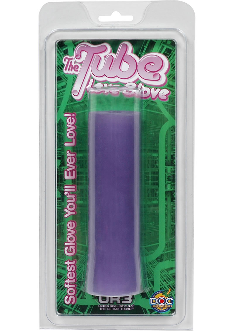 The Tube Love Glove UR3 Masturbator Purple