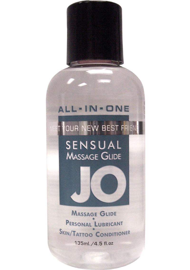 Jo Sensual Massage Glide All In One 4 Ounce