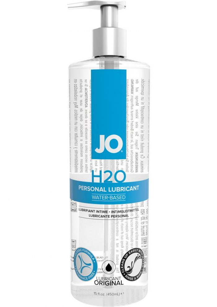 Jo H2O Water Based Lubricant 16 Ounce