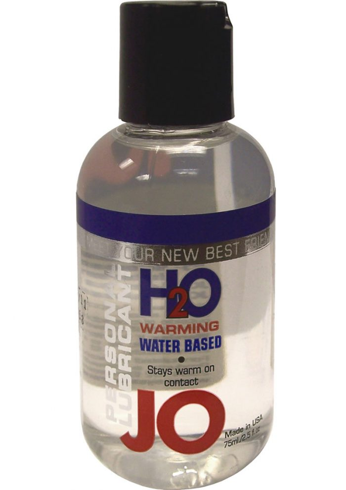 Jo H2O Warming Water Based Lubricant 2 Ounce