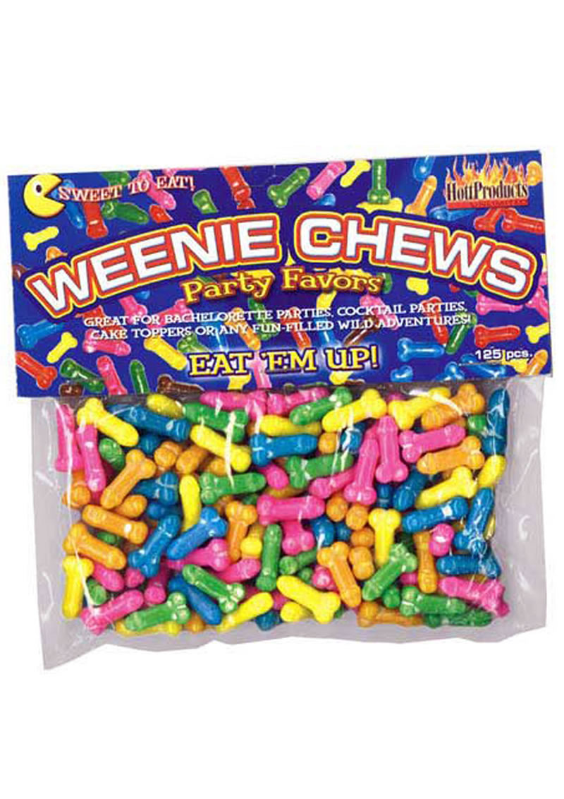 Weenie Chews Party Favors Eat Em Up