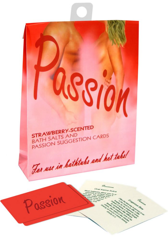 Sensuality Verbena Green Tea Scented Bath Salts With Suggestion Cards