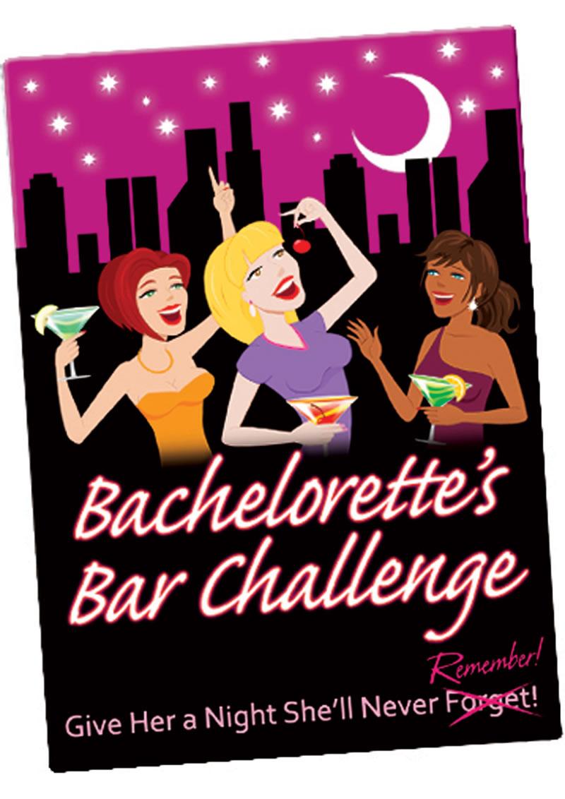 Bachelorettes Bar Challenge Cards
