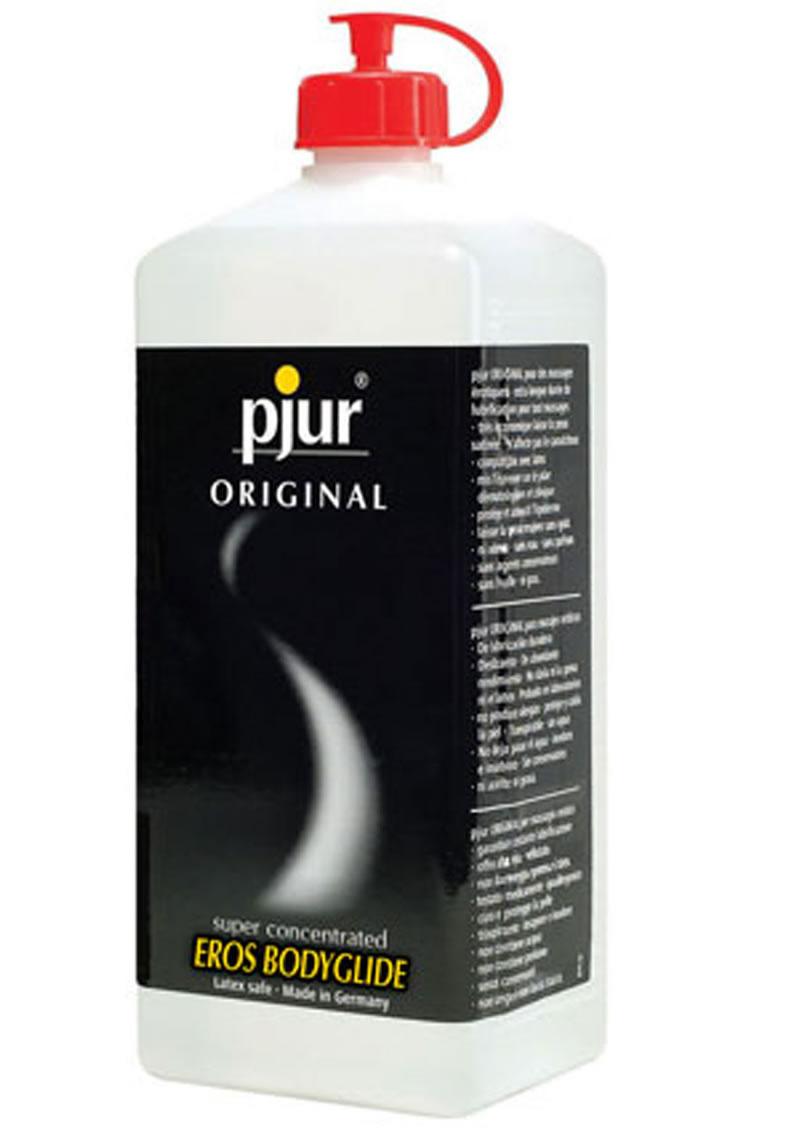 Pjur Original Super Concentrated Bodyglide Silicone Lubricant 1000 ml