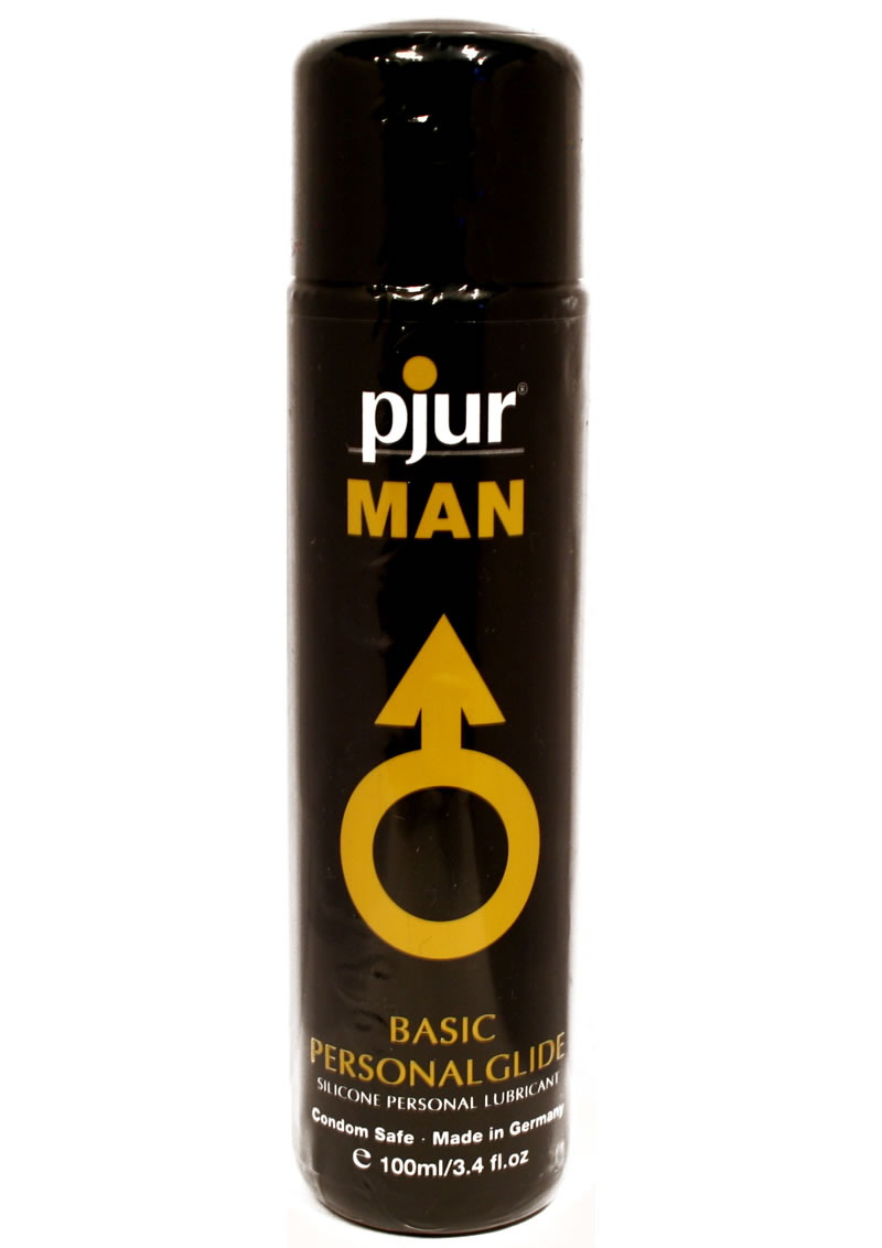 Pjur Man Basic Personal Guide Silicone Lubricant 3.4 Ounce