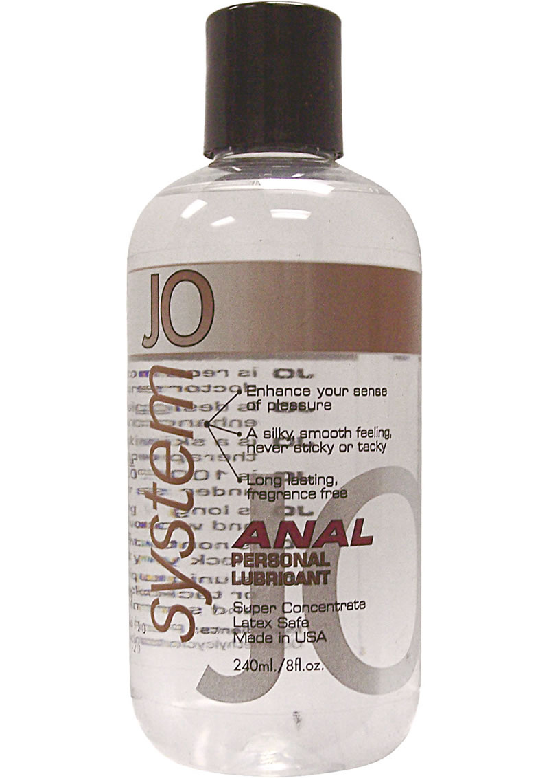 Jo Anal Silicone Lubricant 8 Ounce