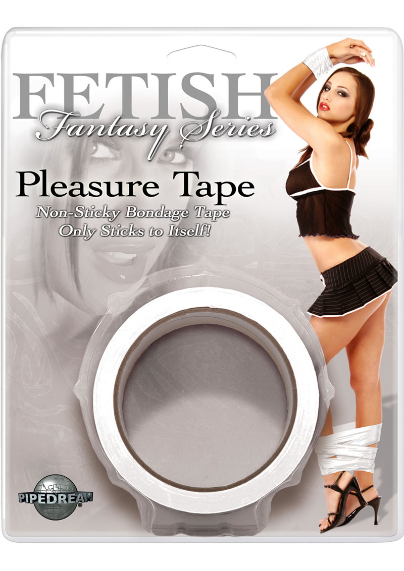 Fetish Fantasy Series Pleasure Tape White