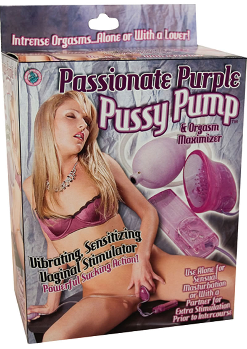 Passionate Purple Pussy Pump Purple