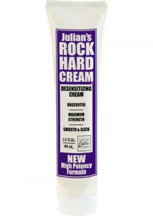 Julians Rock Hard Cream Desensitizing Cream 1.5 Ounce