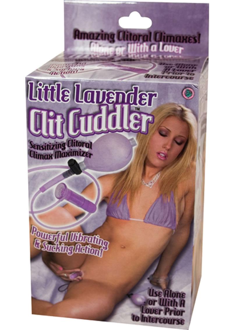 Little Lavender Clit Cuddler Pussy Pump Purple