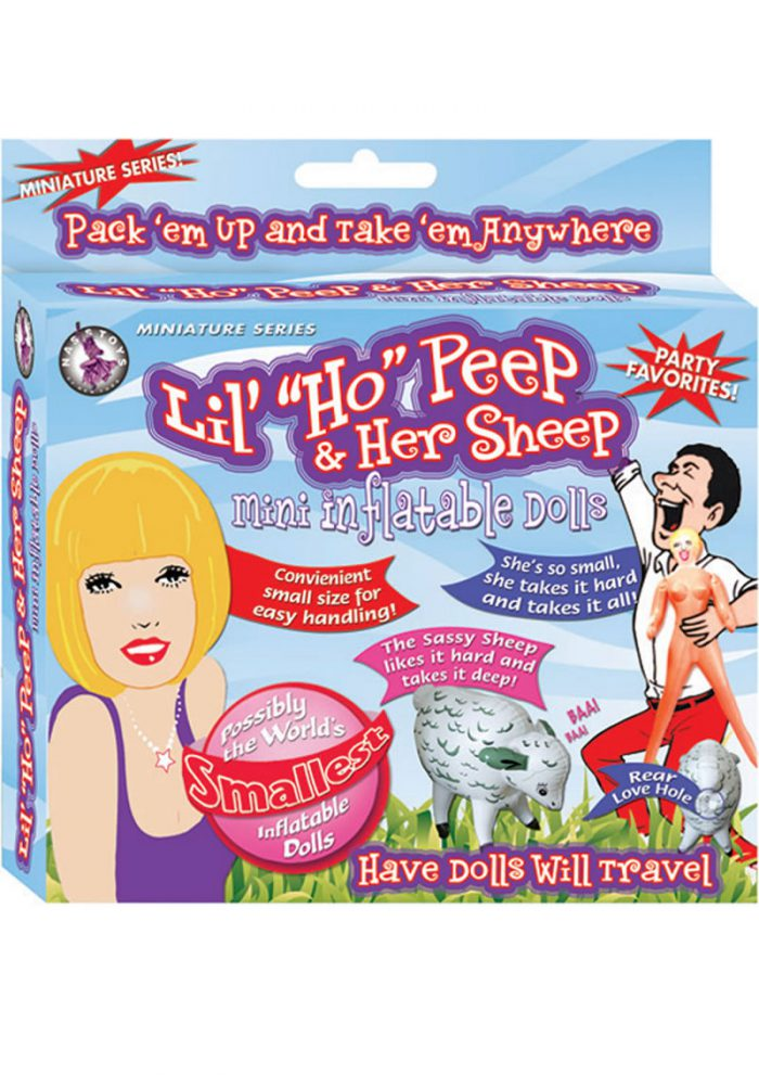 Lil Ho Peep And Her Sheep Mini Inflatable Doll Flesh