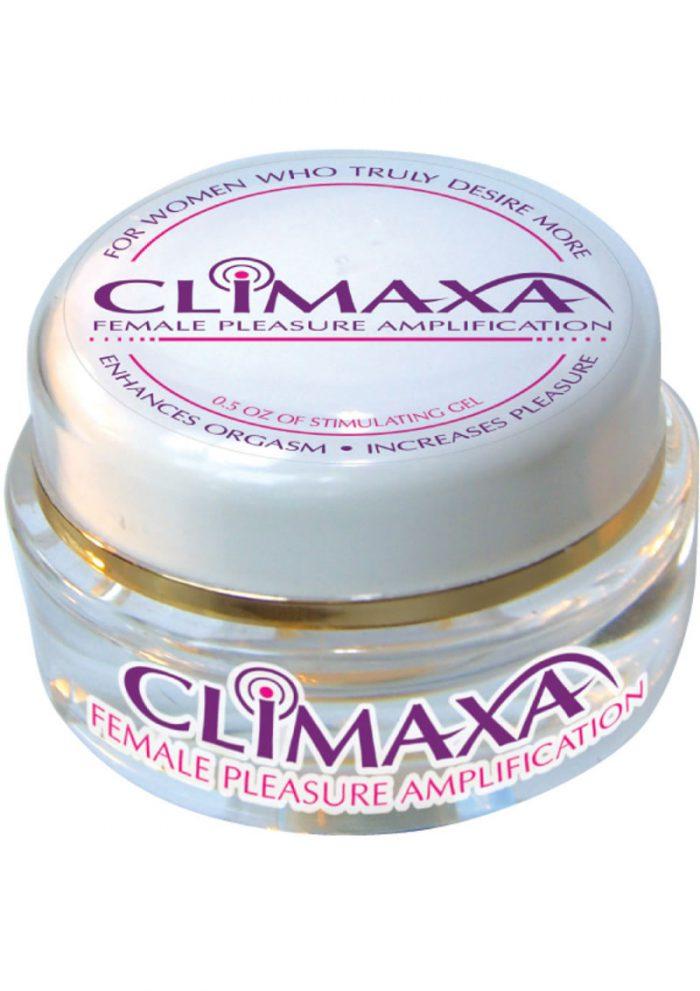 Climaxa Pleasure Amplification Gel For Women 5 Ounce Jar