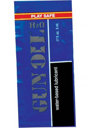 Gun Oil H2O Foil Packs .17 Ounce 50 Per Bag
