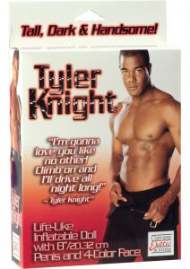 Tyler Knight Male Doll Lifelike Inflatable With Penis 8 Inch