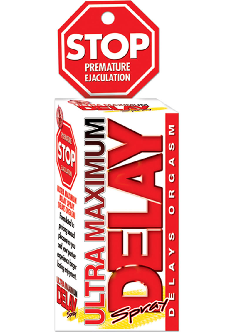 Stop Ultra Maximum Delay Spray