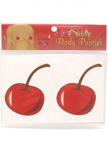 Edible Body Pasties Luscious Cherry