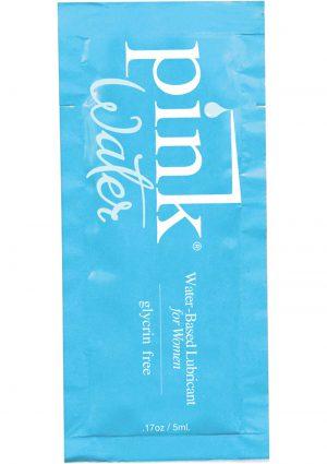Pink Water Foil Packs .17 Ounce 50 Per bag