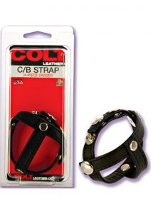 COLT LEATHER COCK and BALL STRIP H PIECE DIVIDER