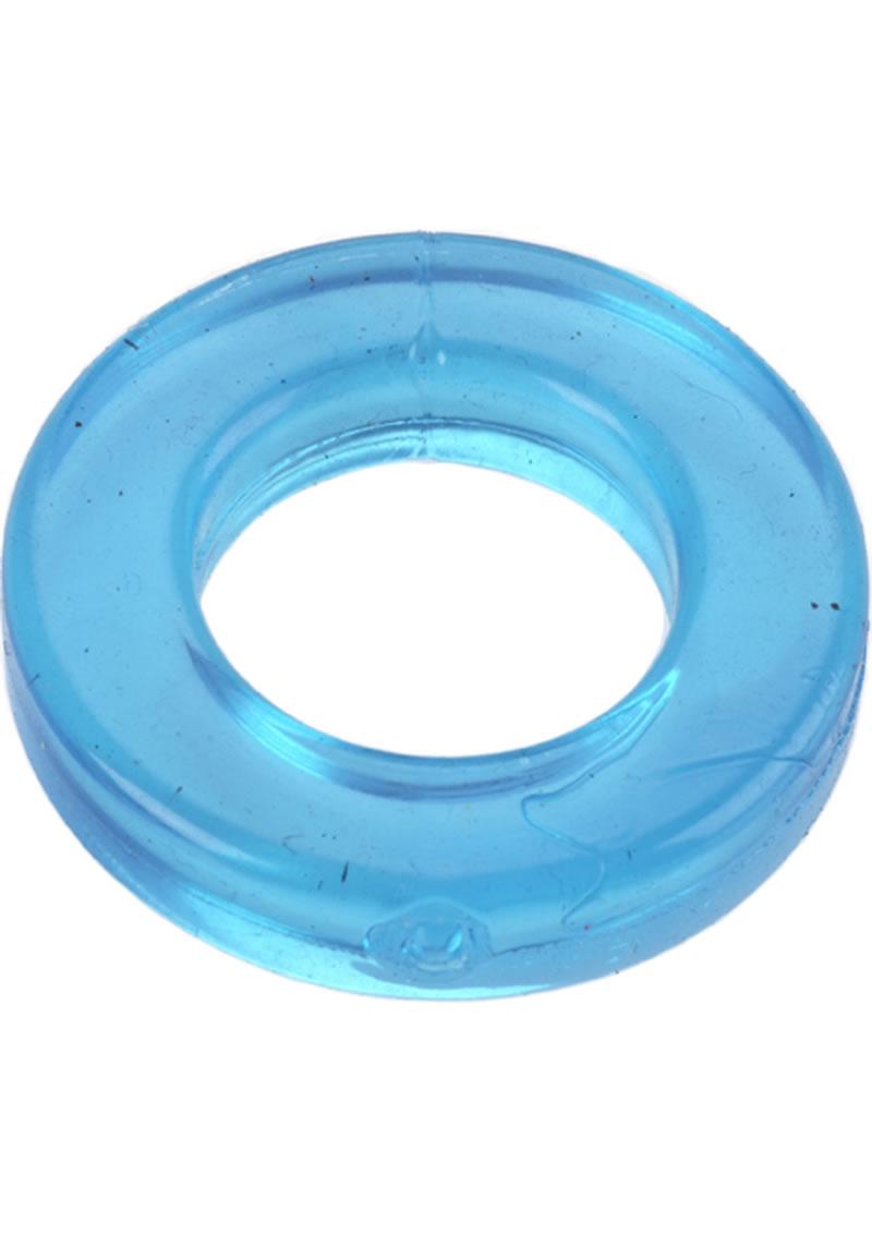 Elastomer Metro Cock Ring Blue