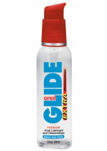 Anal Glide Anal Lubricant And Desensitizer Water Based 2 Ounce