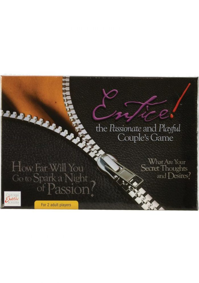 Entice The Passonate and Playful Couples Game