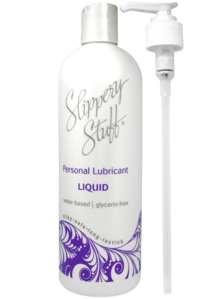 Slippery Stuff Liquid Water Based Lubricant 16 Ounce