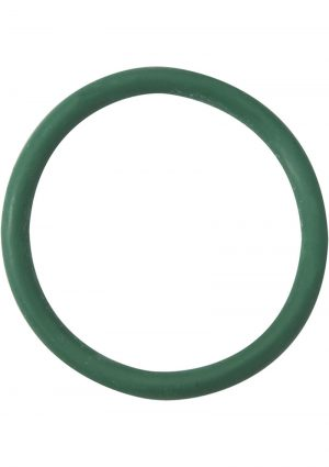 Rubber Cock Ring 2 Inch Green
