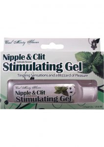 Nipple And Clit Stimulating Gel Tingling Mint 1 Ounce