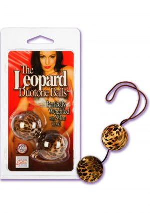 The Leopard Duotone Balls Weighted With Nylon Cord