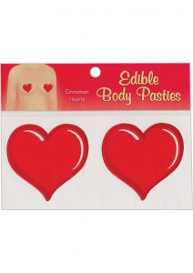 Edible Body Pasties Cinnamon Heart
