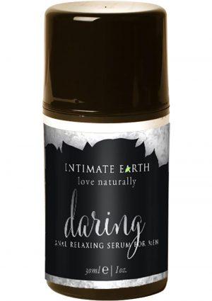 Intimate Earth Daring Mens Anal Relaxing Spray Lemongrass 1 Ounce