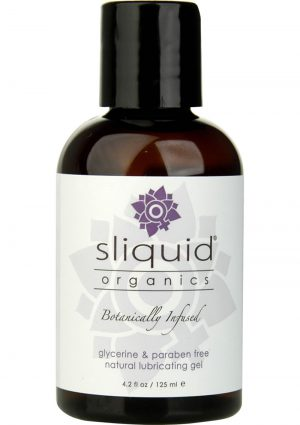 Sliquid Organics Botanically Infused Water Based Gel Lubricant 4.2 Ounce