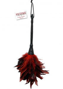Fetish Fantasy Series Frisky Feather Duster Red