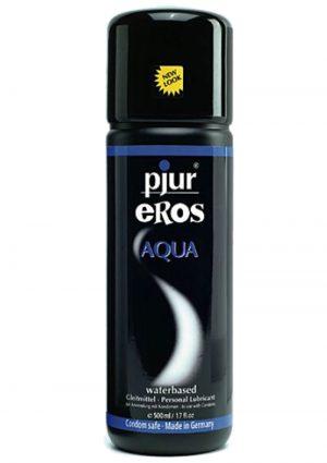 Pjur Eros Aqua Water Based Lubricant 17 Ounce