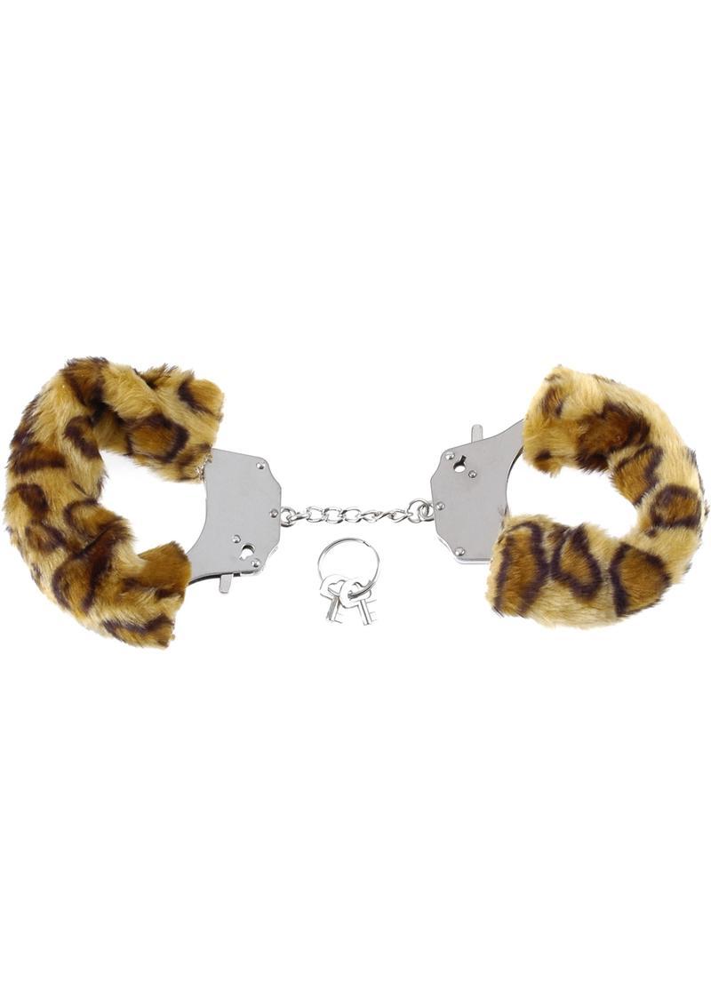 Fetish Fantasy Series Furry Cuffs Cheetah