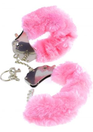 Fetish Fantasy Series Furry Cuffs Pink