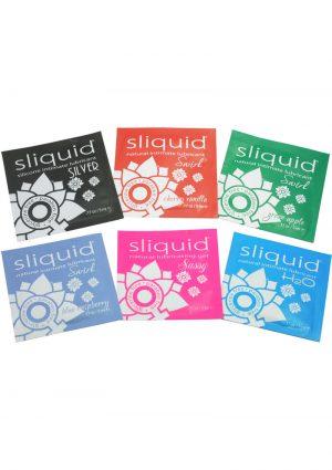 Sliquid Natural Intimate Lubricant Sampler