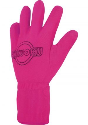Fukuoku 5 Finger Massage Glove Left Hand Waterproof Pink