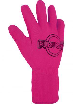 Fukuoku 5 Finger Massage Glove Right Hand Waterproof Pink