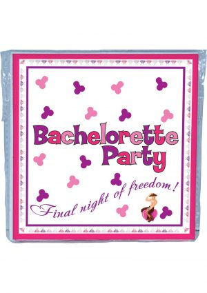 Bachelorette Party Trivia Napkins 10 Per Pack