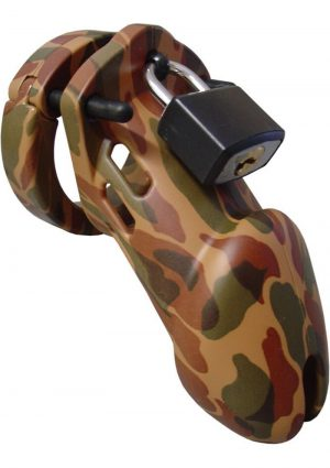 C B 6000 Designer Collection Male Chastity Device Camouflage Finish