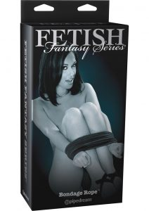 Fetish Fantasy Series Limited Edition Bondage Rope Black