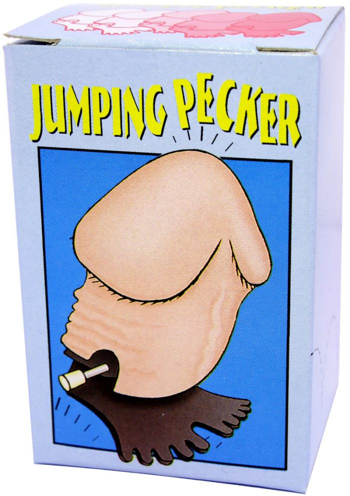 Wind Up Jumping Pecker