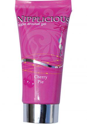 Nipplicious Nipple Arousal Gel Cherry Pie 1 Ounce
