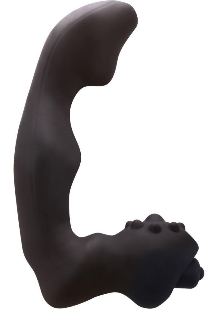 Renegade Silicone Vibrating Massager I Waterproof Black