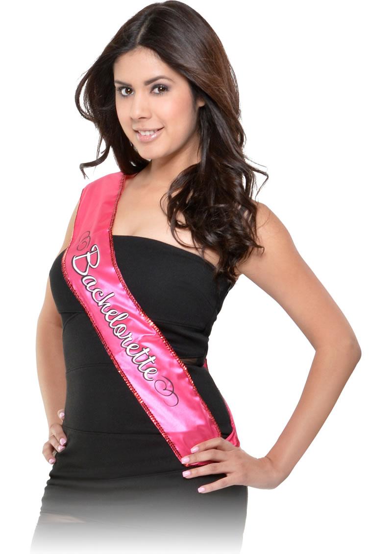 Bachelorette Party Favors Sash Pink