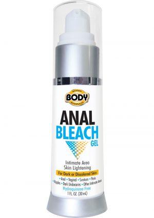 Anal Bleach Skin Lightening Gel 1 Ounce Bottle