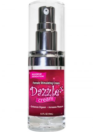 Dazzle Female Stimulating Cream .5 Ounce Bottle